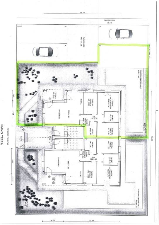Appartamento quadrilocale in vendita a Bastia Umbra (PG)-2