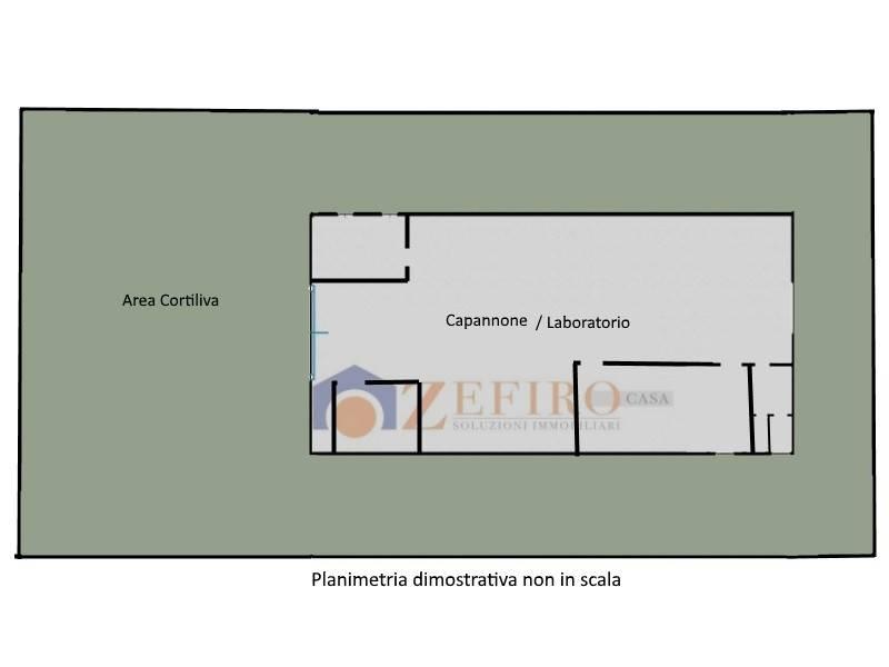 Capannone in Affitto a San Giovanni In Persiceto Periferia: 1 locali, 510 mq