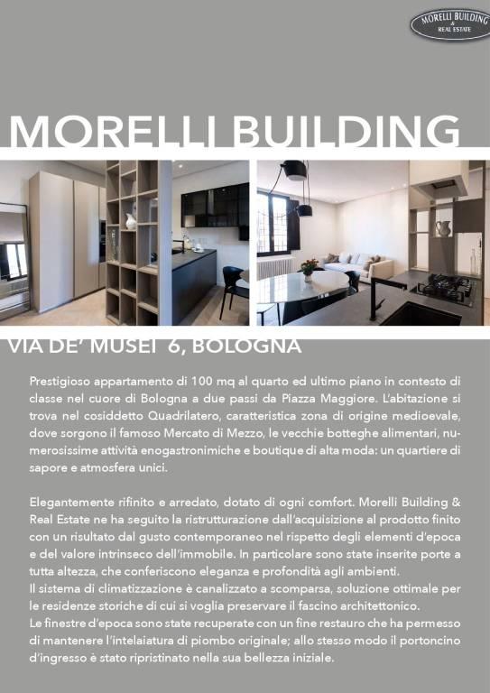 Appartamento in Affitto a Bologna Centro: 100 mq