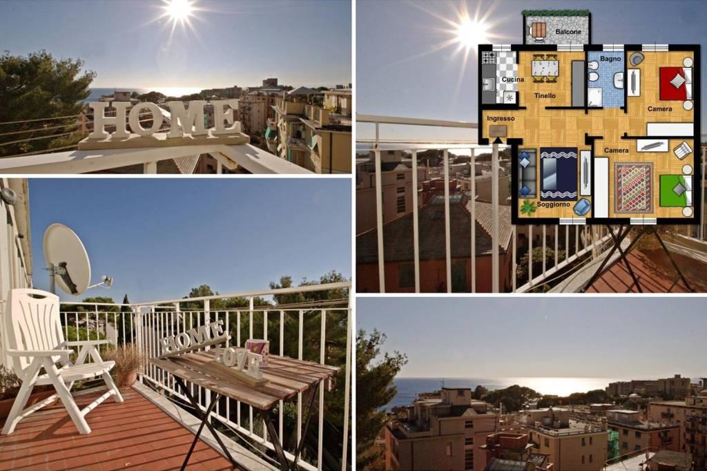 Foto 1 di Appartamento viale Teano, Genova (zona Quarto)