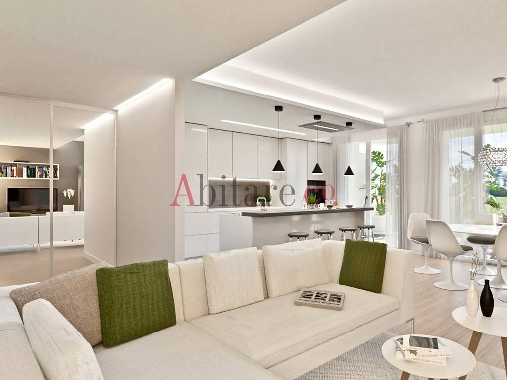 Appartamento in Vendita a Trezzano Sul Naviglio Centro: 3 locali, 92 mq
