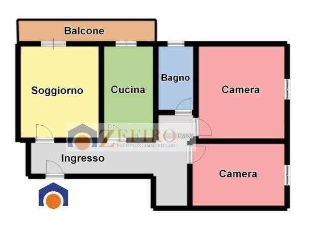 Appartamento in Affitto a Carpi Periferia: 3 locali, 93 mq