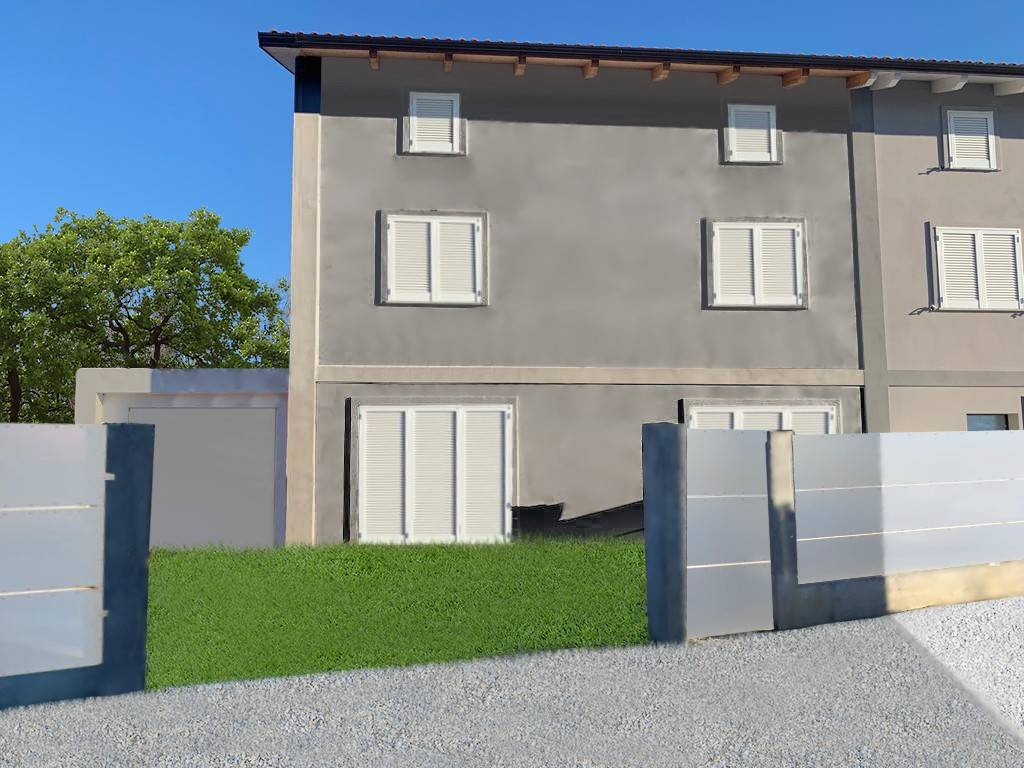 Foto 1 di Villetta a schiera via Umberto Grilli, Asti