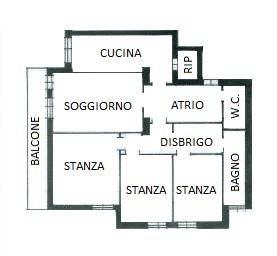 Attico / Mansarda in affitto a Trento, 5 locali, prezzo € 950 | CambioCasa.it