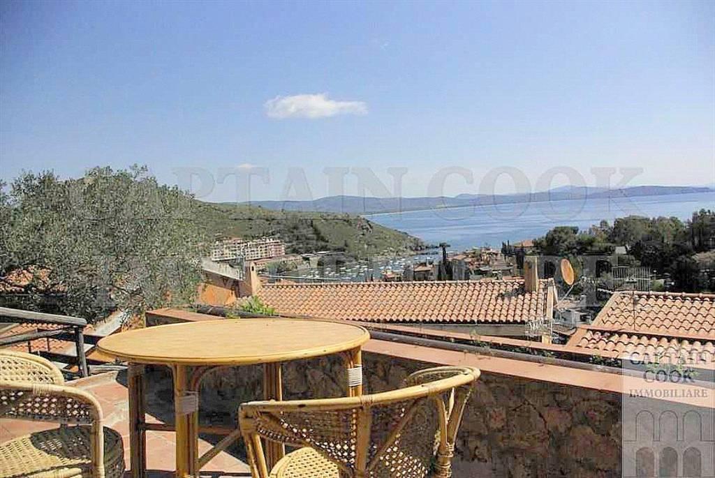 Vendita villino con bellissima vista sul mare, Porto Ercole