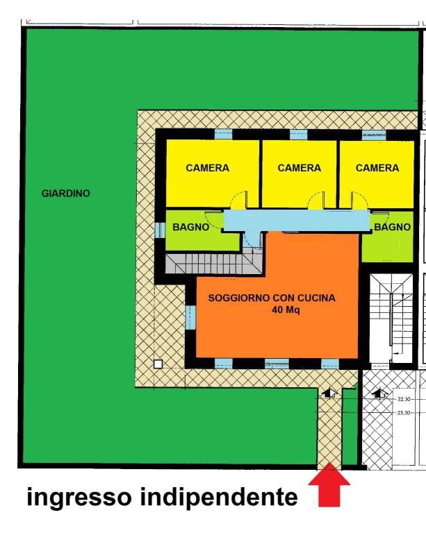 Appartamento in vendita Rif. 8662092