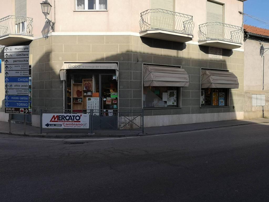 Negozio in affitto via Camillo Benso di Cavour 13 Cambiano