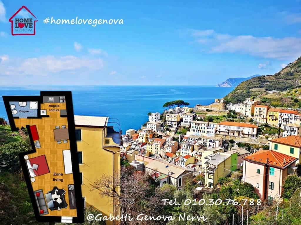 Foto 1 di Bilocale via Sant'Antonio, Riomaggiore