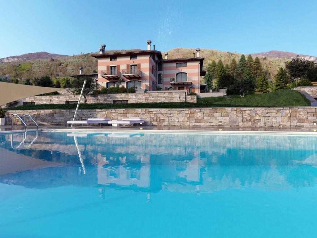 Villa a Schiera in Vendita a Lovere