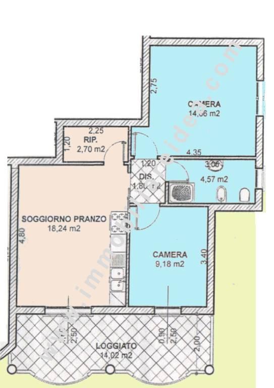 Appartamento in Vendita a Rosignano Marittimo Centro: 3 locali, 66 mq