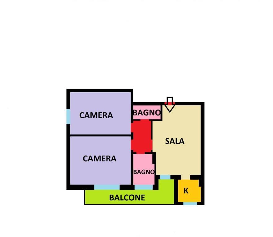 Appartamento in vendita indirizzo su richiesta Bologna