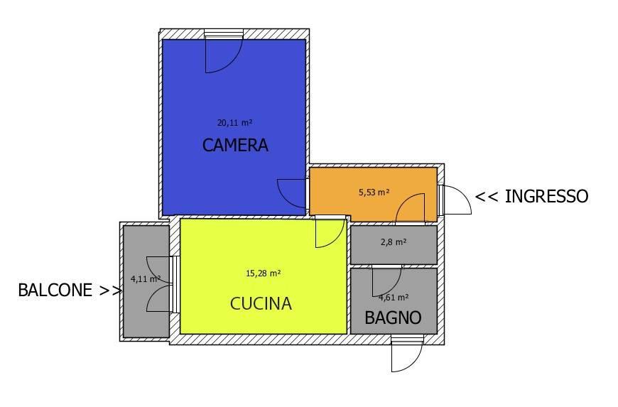 Appartamento in ottime condizioni in affitto Rif. 8677872