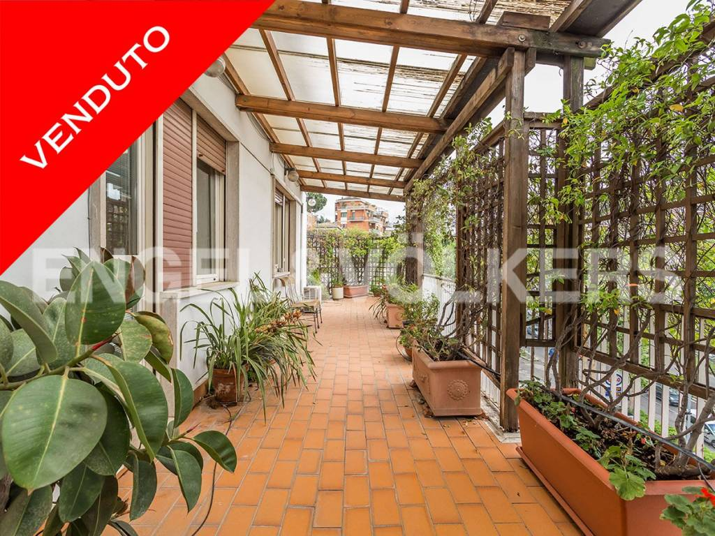 Appartamento in Vendita a Roma 33 Gregorio VII / Baldo degli Ubaldi: 4 locali, 140 mq