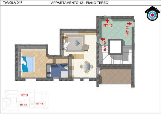 Attico / Mansarda in vendita a San Pietro in Casale, 2 locali, prezzo € 148.000 | PortaleAgenzieImmobiliari.it