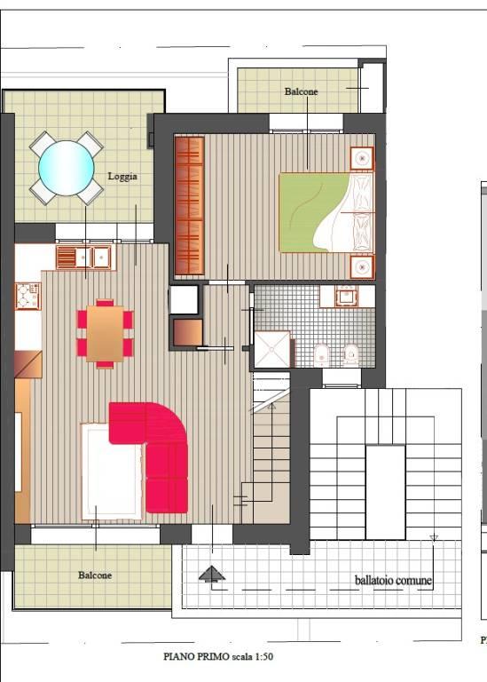Appartamento in vendita a Misano Adriatico, 4 locali, prezzo € 315.000 | PortaleAgenzieImmobiliari.it