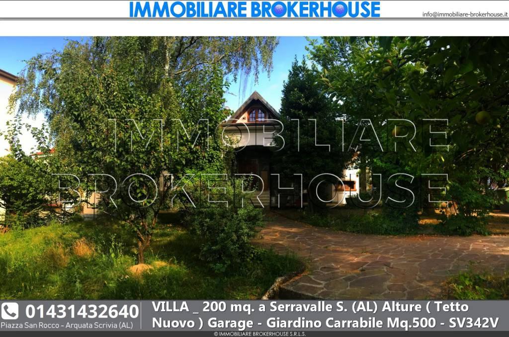 Villa in vendita a Serravalle Scrivia, 6 locali, prezzo € 230.000 | PortaleAgenzieImmobiliari.it