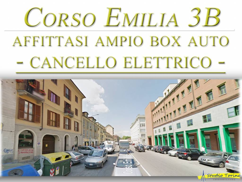 Foto 1 di Box / Garage corso Emilia 3B, Torino (zona Valdocco, Aurora)