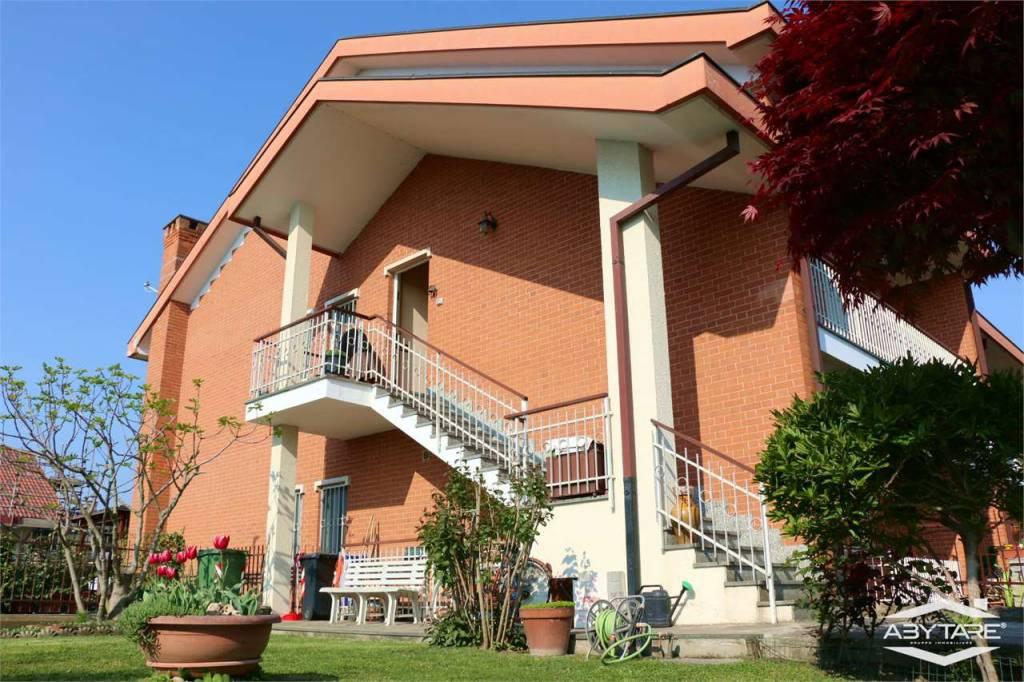 Foto 1 di Villetta a schiera via Alcide de Gasperi, 11, Vinovo