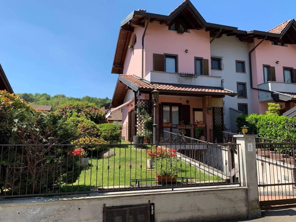 Villa in vendita via Leonardo da Vinci Borgo Ticino