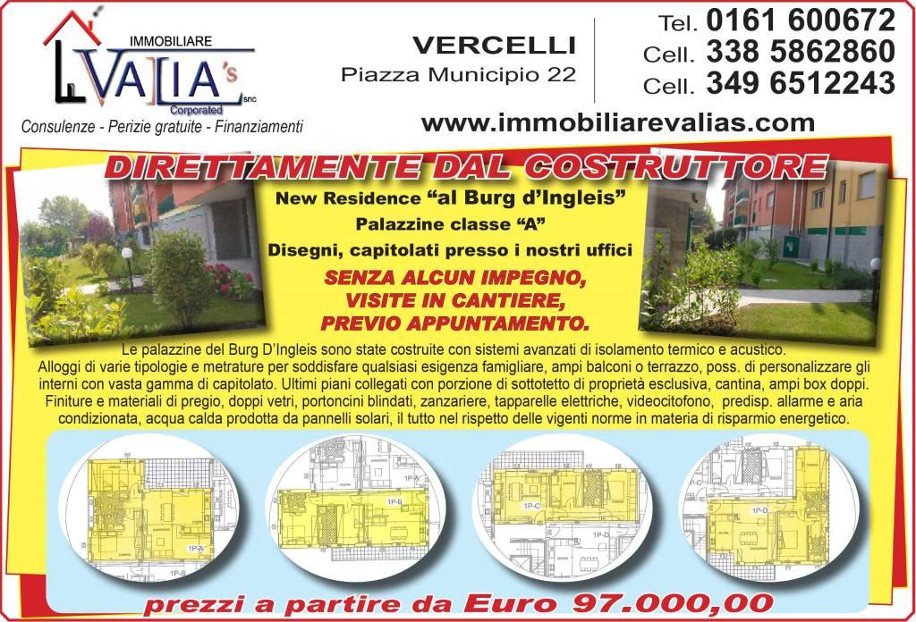 Appartamento in vendita a Vercelli, 4 locali, prezzo € 135.000 | CambioCasa.it