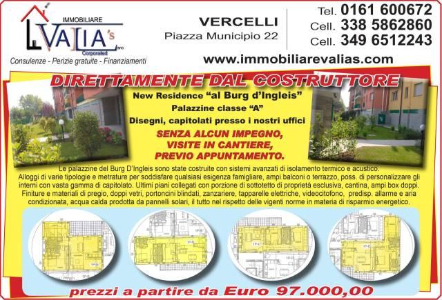 Appartamento in vendita a Vercelli, 6 locali, prezzo € 106.000 | CambioCasa.it