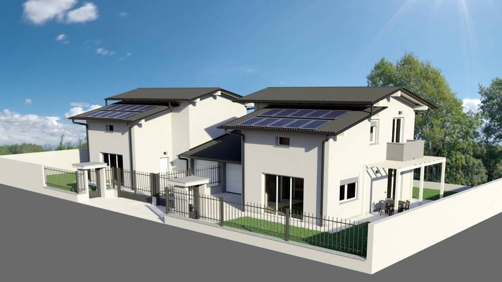 Villa in vendita a Lonate Pozzolo, 4 locali, prezzo € 289.000 | CambioCasa.it