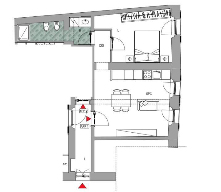 Appartamento in vendita a Pavia, 2 locali, prezzo € 220.000 | PortaleAgenzieImmobiliari.it