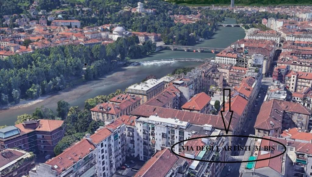 Foto 1 di Bilocale via Artisti 31BIS, Torino (zona Vanchiglia, Regio Parco)