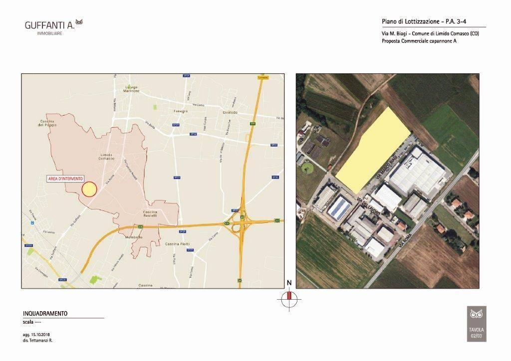 Terreno Edificabile Artigianale in vendita a Limido Comasco, 9999 locali, Trattative riservate | PortaleAgenzieImmobiliari.it
