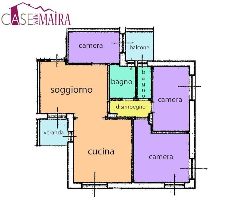 Appartamento in buone condizioni in vendita Rif. 8776600