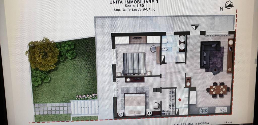 Appartamento in Vendita a Cascina Periferia: 3 locali, 102 mq