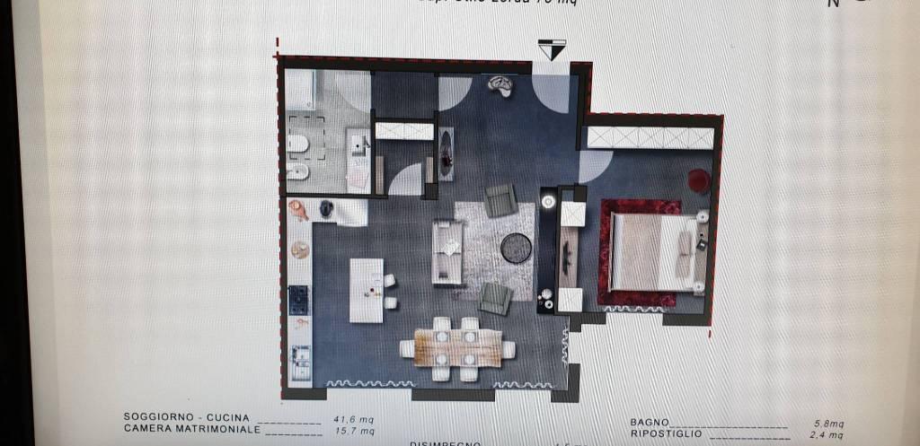 Appartamento in Vendita a Cascina Periferia: 2 locali, 78 mq