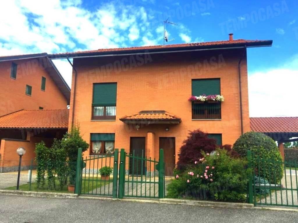 Foto 1 di Villetta a schiera via fontanasso, San Maurizio Canavese