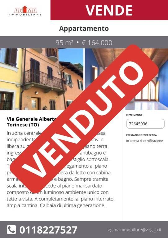 Appartamento in vendita via Generale Alberto Gunzi 3 San Mauro Torinese