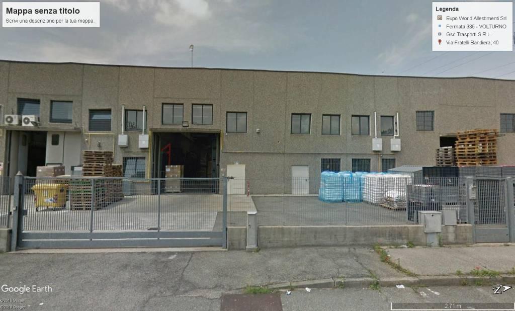 Capannone in vendita via Fratelli Bandiera 40 Nichelino