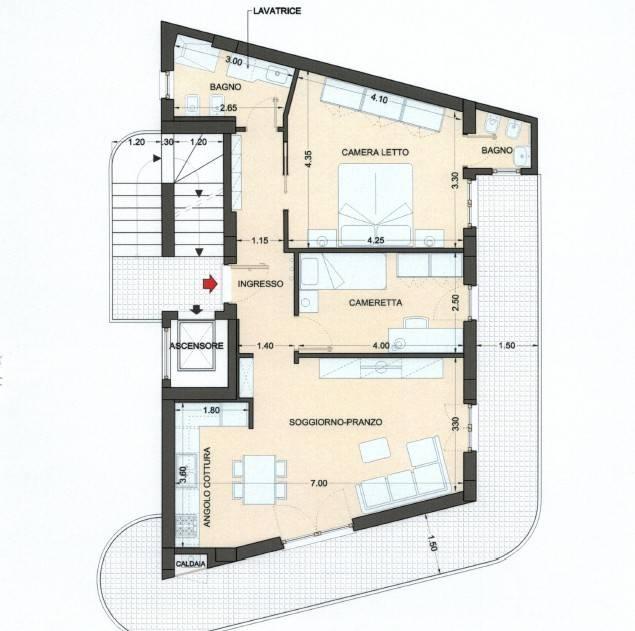 Appartamento in vendita Rif. 8897314