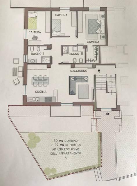 Appartamento in vendita via Piave Rosta