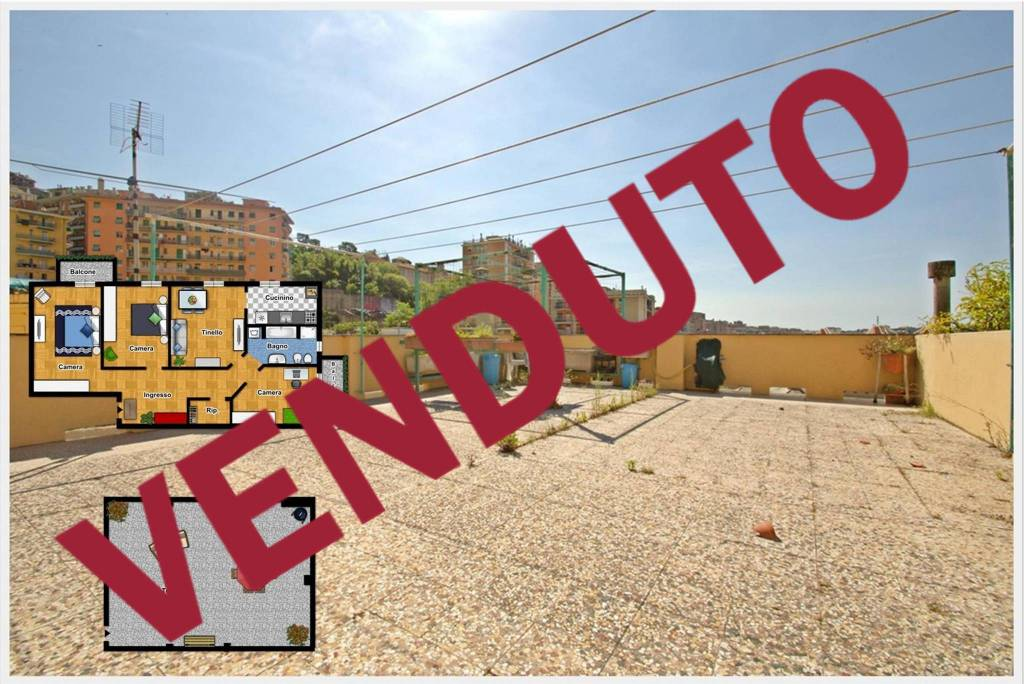 Foto 1 di Appartamento via Monte Nero, Genova (zona Marassi-Staglieno)