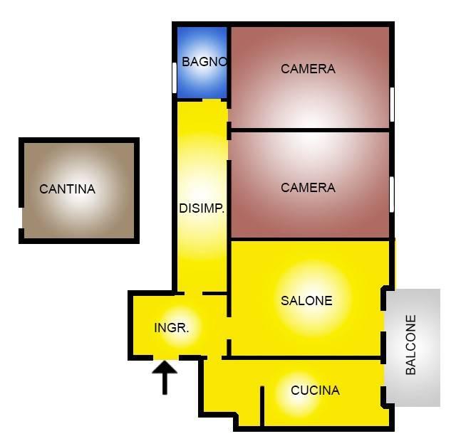 Appartamento in vendita a Roma, 3 locali, zona Zona: 24 . Gianicolense - Colli Portuensi - Monteverde, prezzo € 309.000 | CambioCasa.it