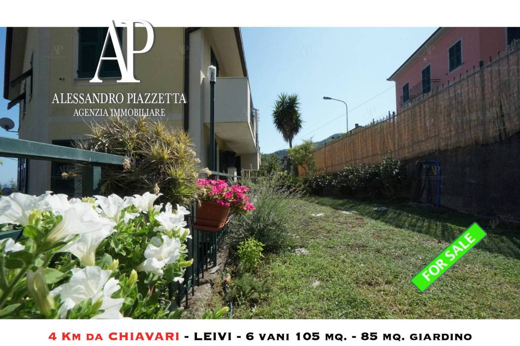 Foto 1 di Quadrilocale via degli Ulivi, Leivi