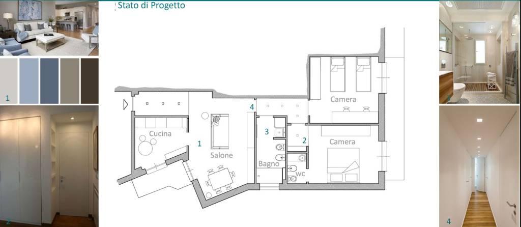 Foto 1 di Quadrilocale via Buonincontri 1, Santa Margherita Ligure