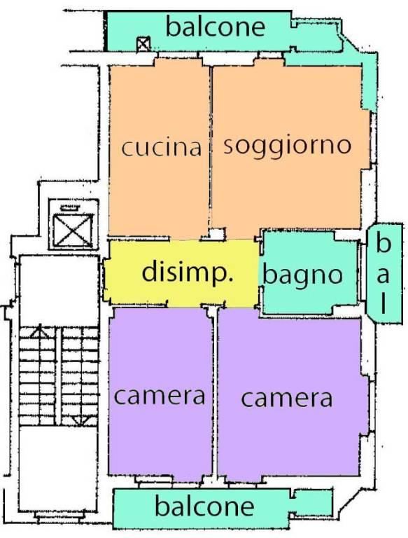 Appartamento in buone condizioni in vendita Rif. 8776583