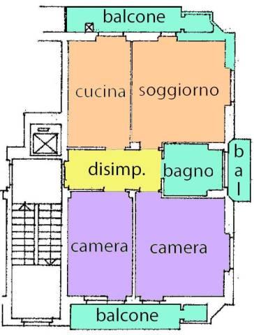 Appartamento in buone condizioni in vendita Rif. 4829740
