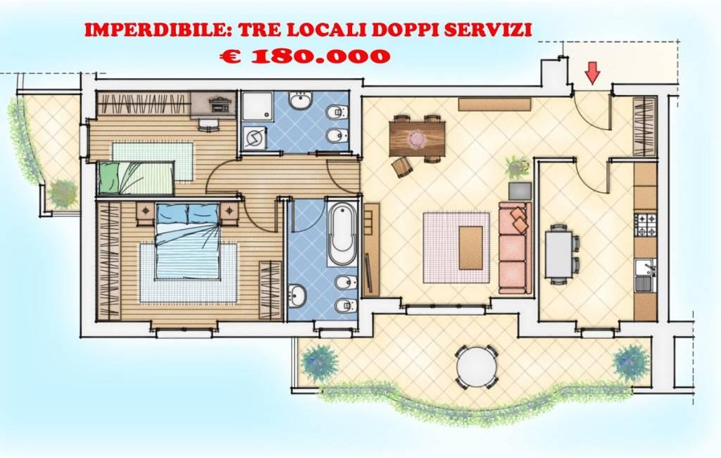 Appartamento in vendita Rif. 6209981