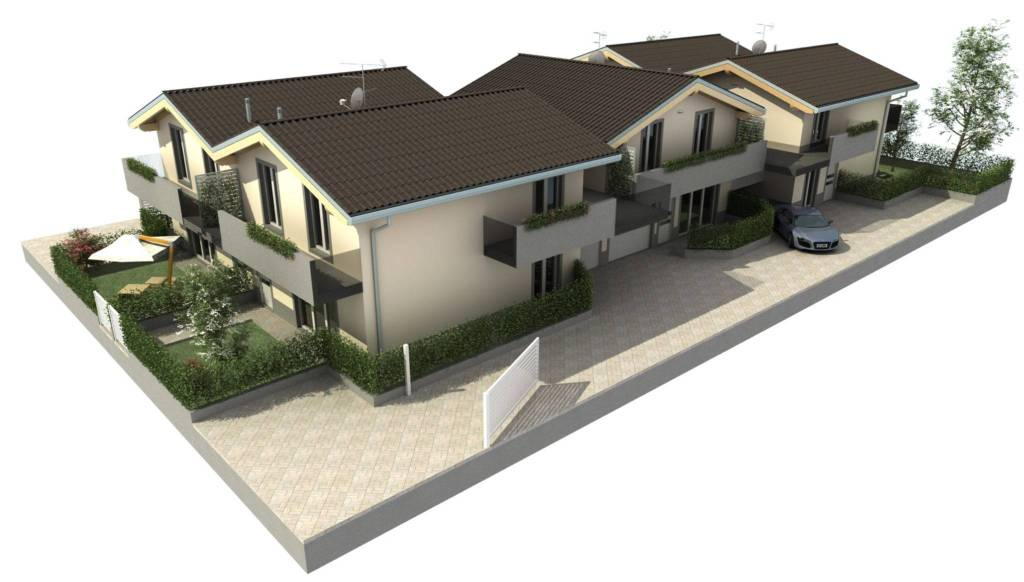 Villa a Schiera in vendita a Limido Comasco, 4 locali, prezzo € 265.000 | PortaleAgenzieImmobiliari.it