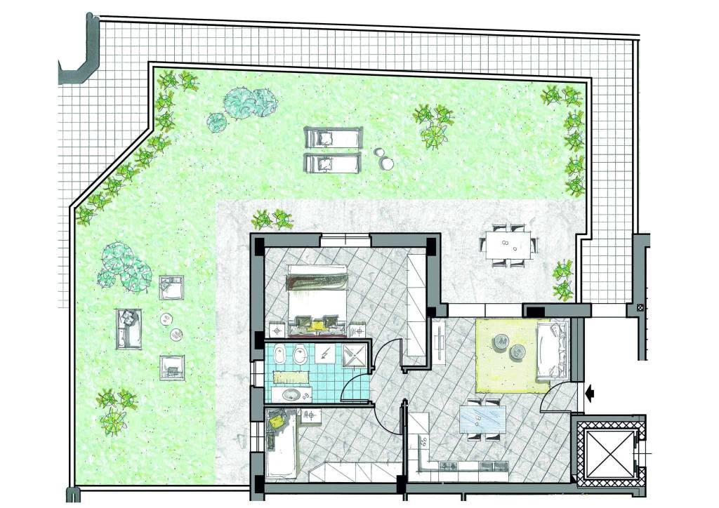 Appartamento in vendita a Cassano d'Adda, 3 locali, prezzo € 179.000 | CambioCasa.it