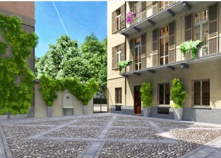 Appartamento in vendita via Conte Giambattista Bogino 18 Torino