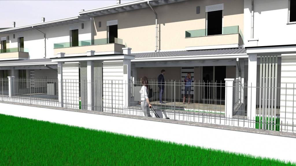 Villa a Schiera in vendita a Montichiari, 4 locali, prezzo € 179.000 | PortaleAgenzieImmobiliari.it