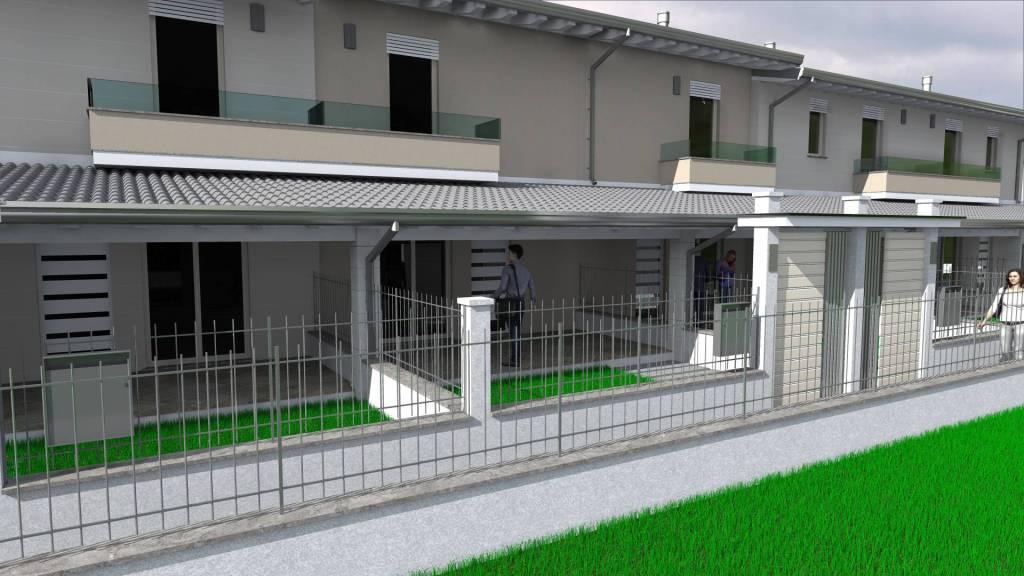 Villa a Schiera in vendita a Montichiari, 3 locali, prezzo € 140.000 | PortaleAgenzieImmobiliari.it