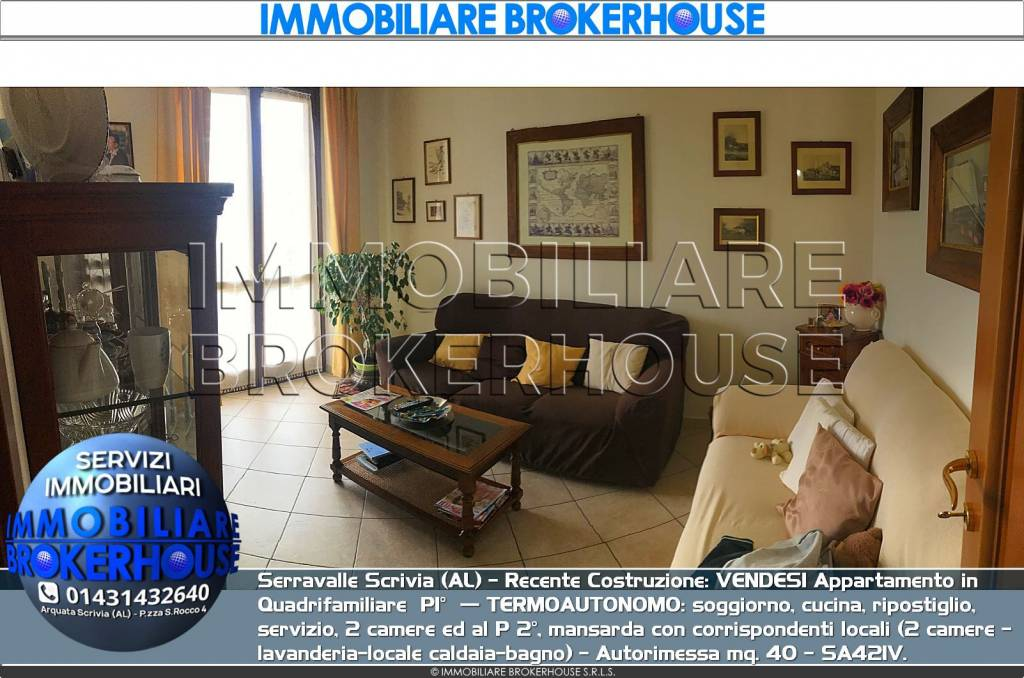 Appartamento in vendita a Serravalle Scrivia, 4 locali, prezzo € 190.000 | PortaleAgenzieImmobiliari.it